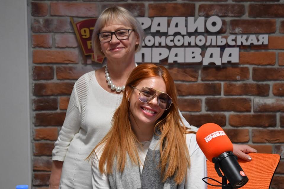В гостях у Татьяны Визбор российская певица, актриса Анастасия Стоцкая