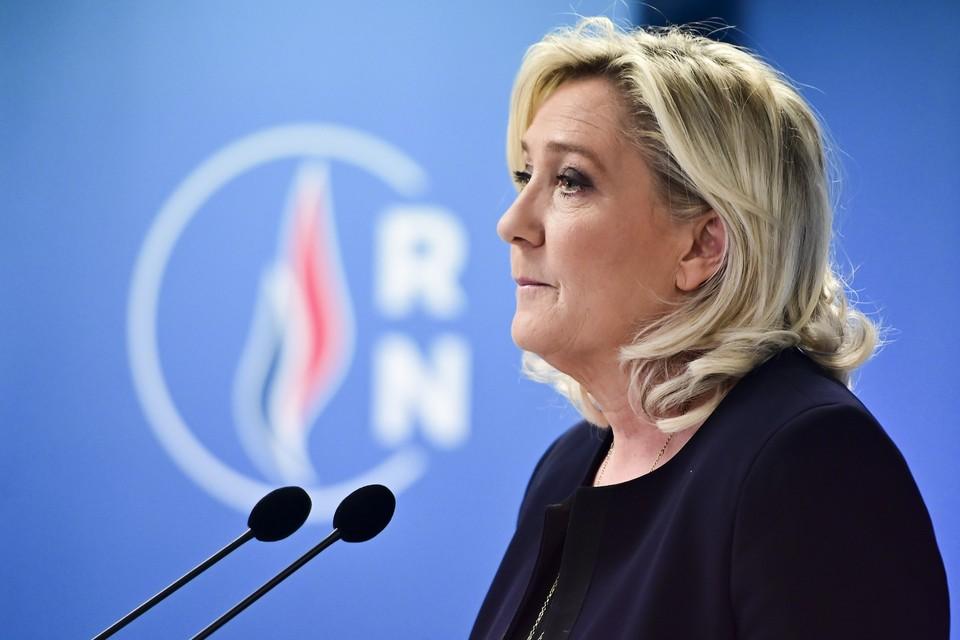 Лидер французской партии «Национальное объединение» Марин Ле Пен.
