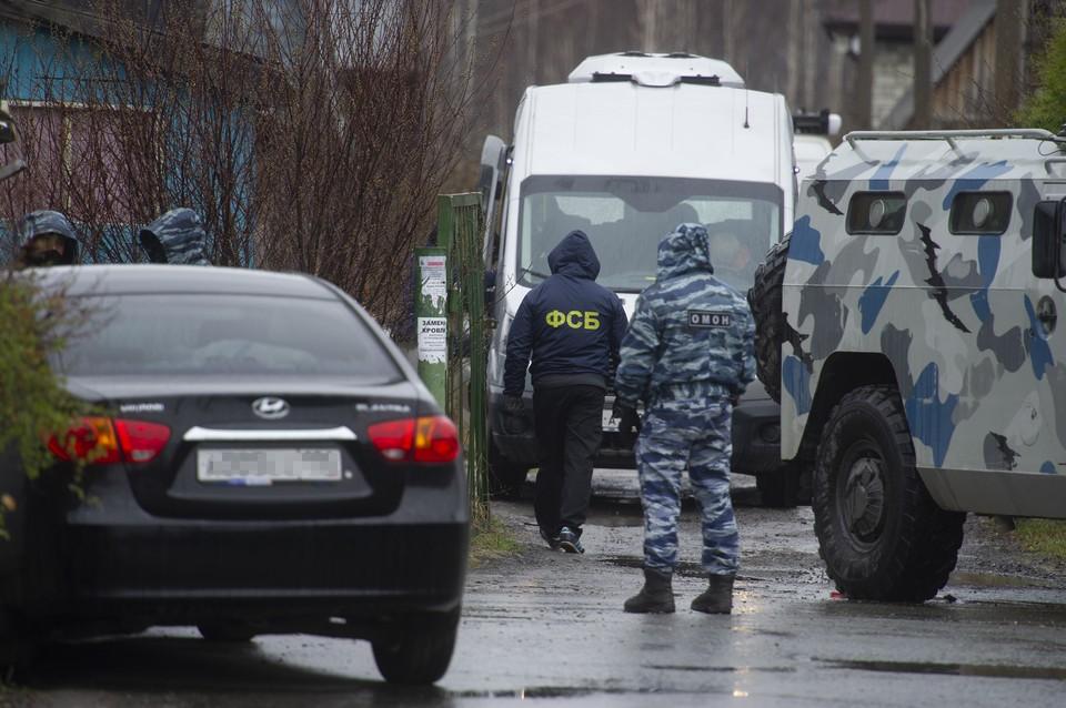 Задерживали участников террористической ячейки при силовой поддержке спецподразделений Росгвардии.