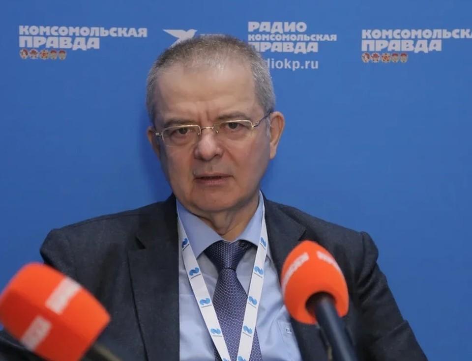 Вице-президент по федеральным и региональным программам «Норильского Никеля» Андрей Грачев.
