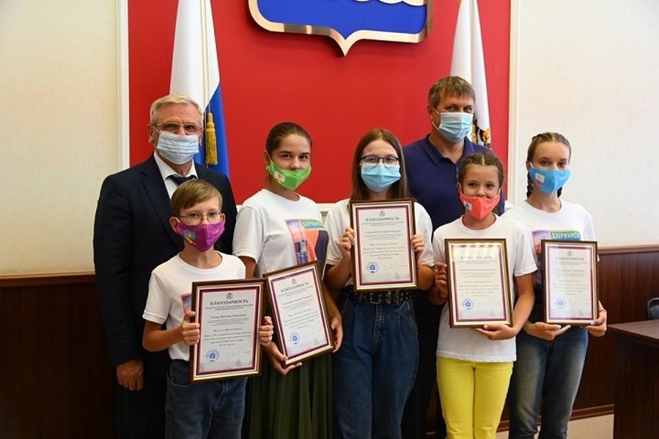 В администрации Дзержинска прошла встреча с победителями и финалистами Всероссийского конкурса «Большая перемена»