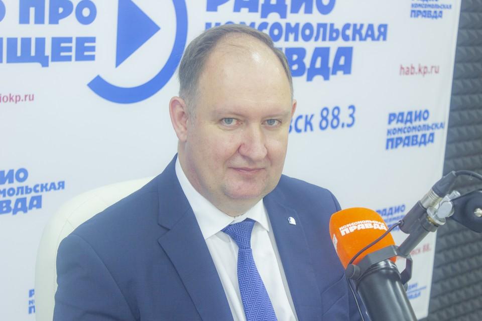 Константин Жмеренецкий, ректор ФГБОУ ВО «Дальневосточного государственного медицинского университета»