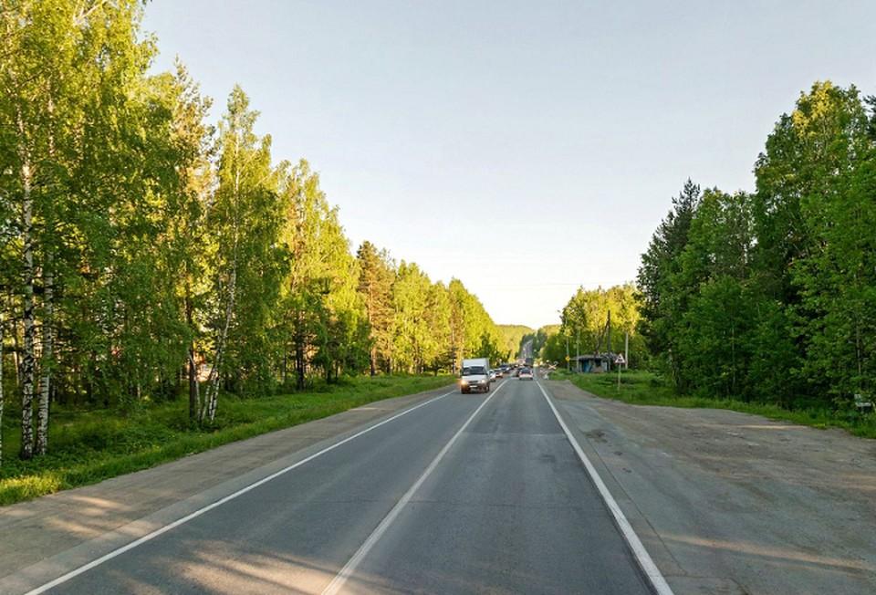 На дороге Нижний Тагил - Николо-Павловское оживленный трафик. Фото: сервис Яндекс.Карты