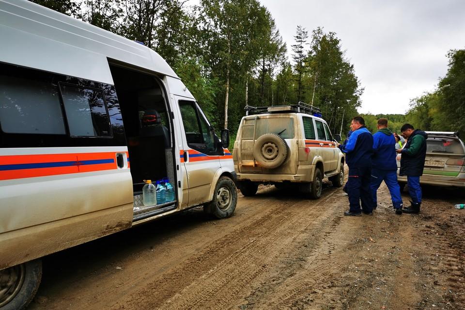 Трое сахалинцев заблудились примерно в той же самой местности, что и предыдущие потеряшки