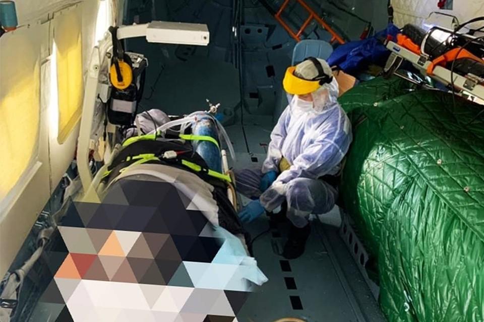 Мужчина будет проходить лечение в ОКБ Фото: vk.com/tvokb