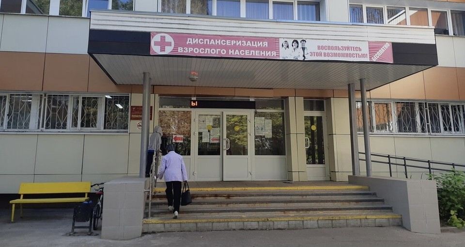Капитальный ремонт системы водоснабжения завершился в поликлинике №2 в Смоленске. Фото: департамент здравоохранения по Смоленской области.