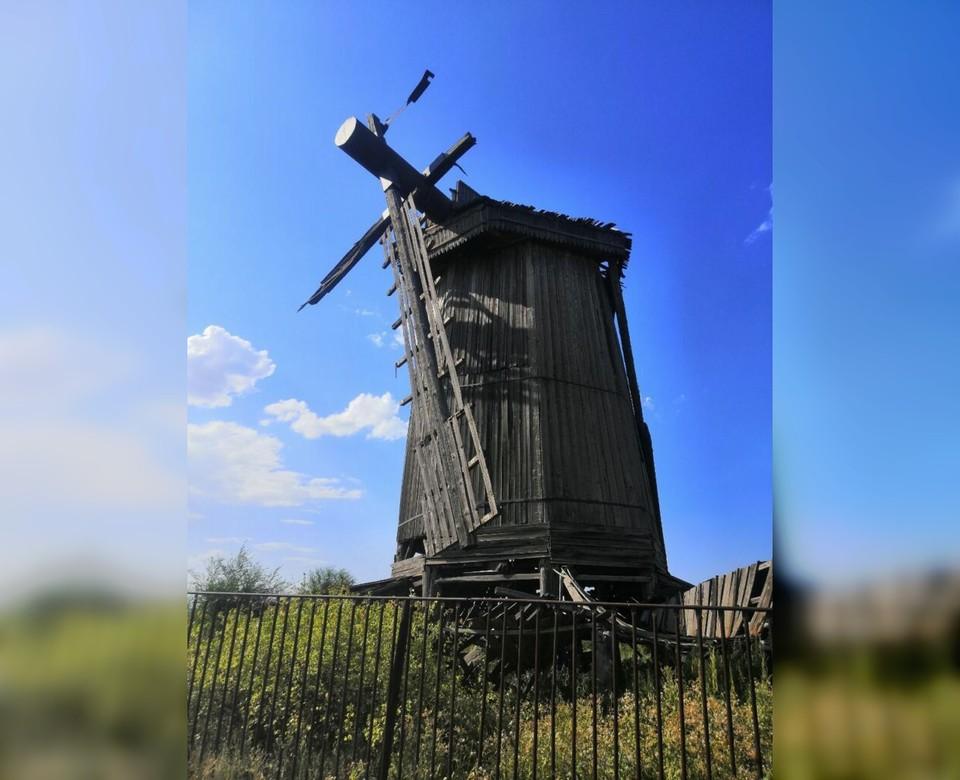 Мельница была построена в XIX веке