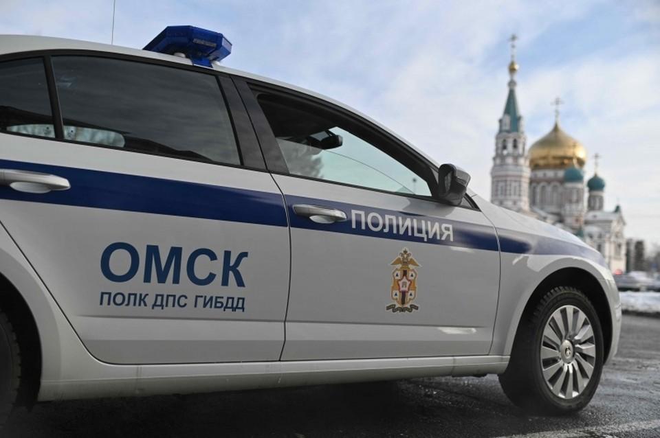 В обстоятельствах аварии разбирается ГИБДД. Фото: пресс-служба Госавтоинспекции по Омской области