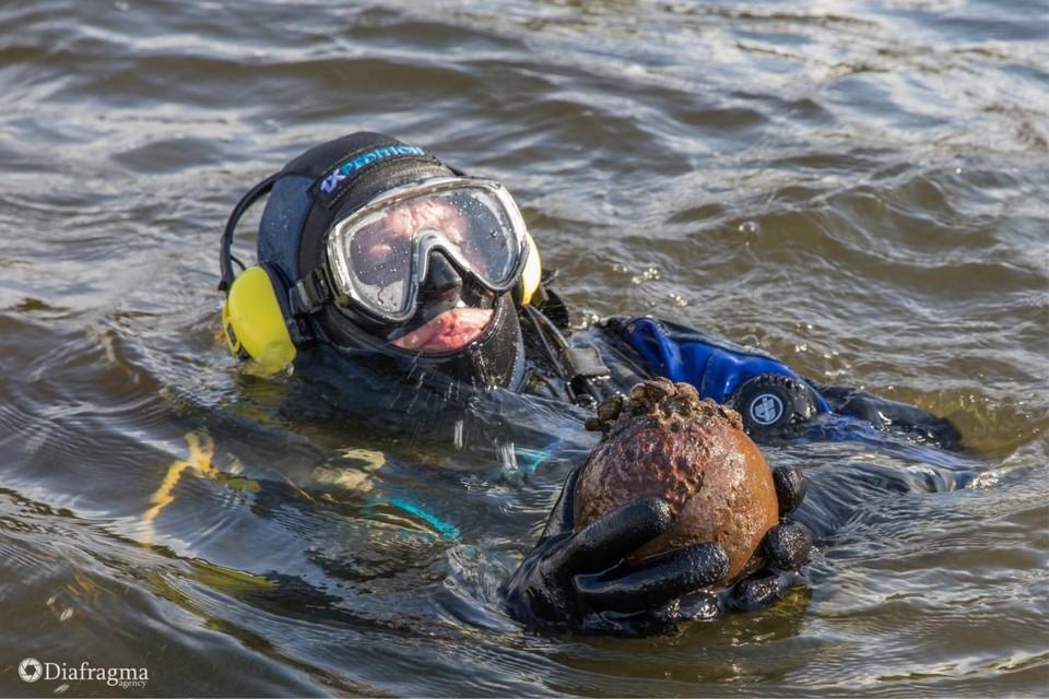 За 6 дней экспедиции дайверами было исследовано около 80 гектаров береговой линии. Фото: предоставлено дайвинг клубом подводного плавания «ДИВО»