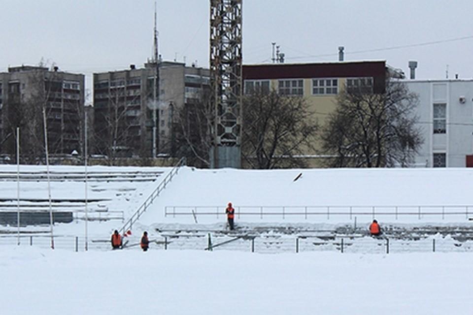 Каток на липецком стадионе «Металлург» закрыли на капремонт