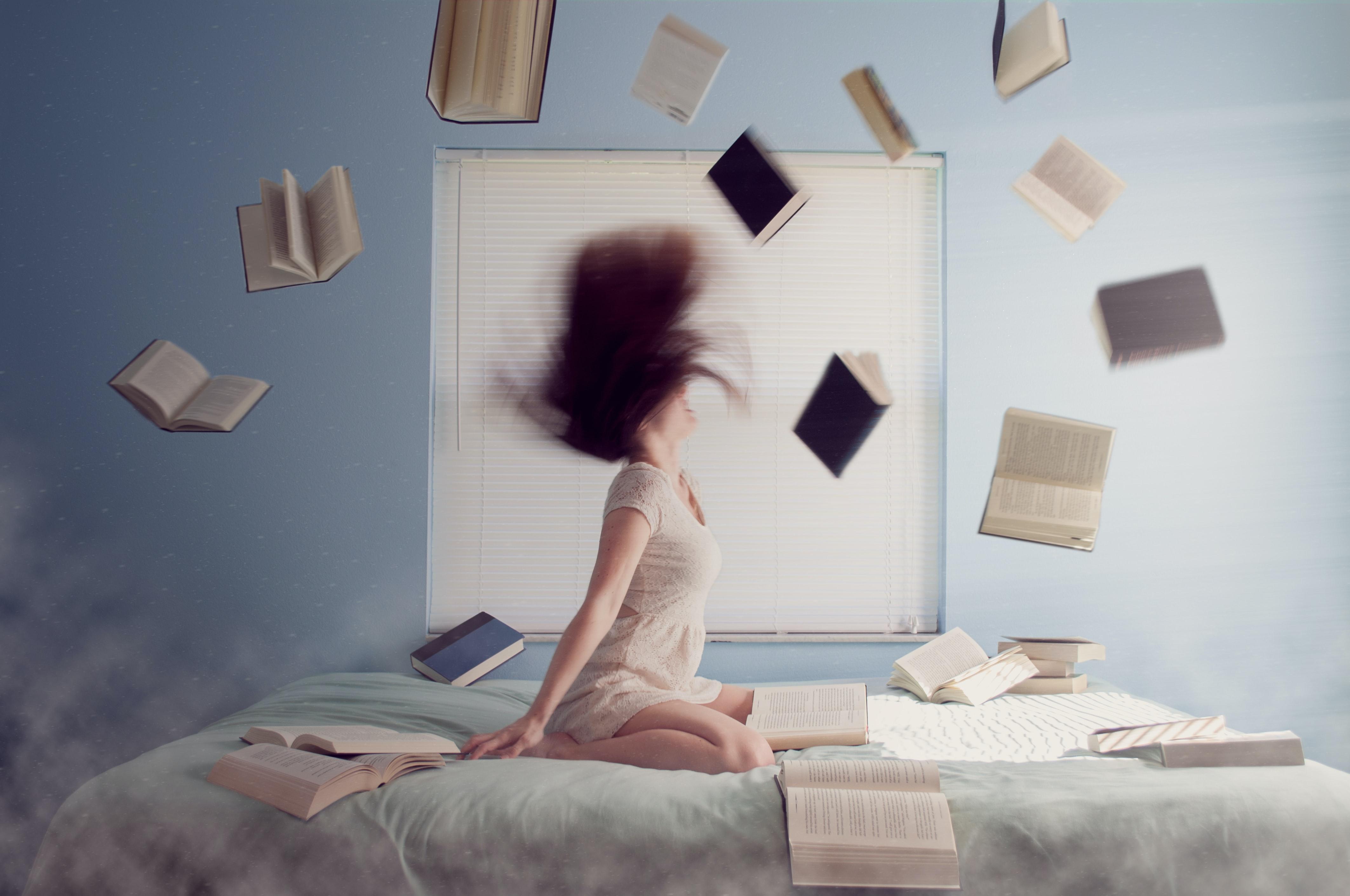 Чем больше читаете, тем крепче память. Фото: unsplash.com